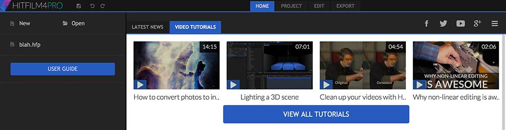 HitFilm 4 Pro: Learning Curve
