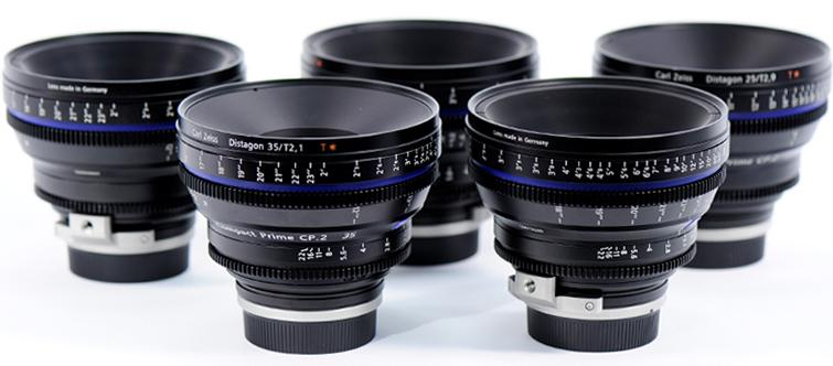Cinematography: Zeiss Lenses