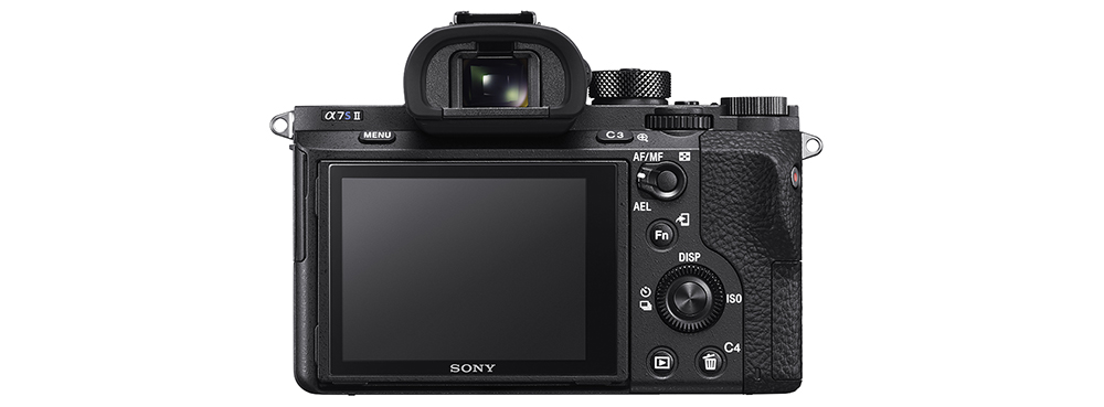 Sony a7S II screen