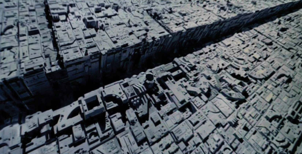 Cinematography Tip: Creating the Illusion of Scale - death star surface