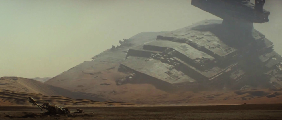 Cinematography Tip: Creating the Illusion of Scale - The Battle of jakku