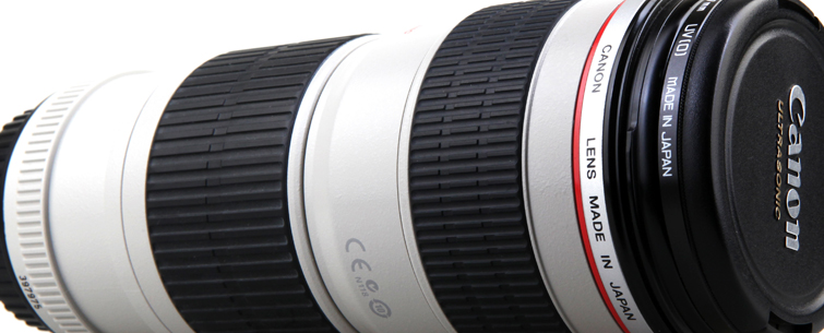 Corporate Video: 70-200mm Canon Zoom Lens