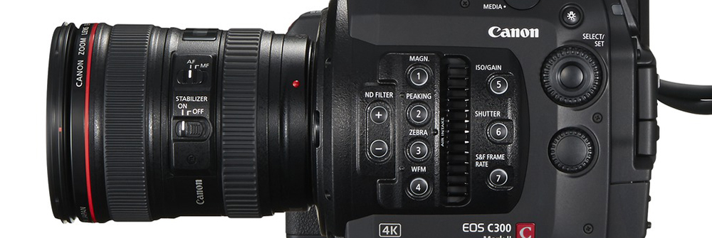 5 Tips For Shooting Unscripted Reality Content - C300 Mark II