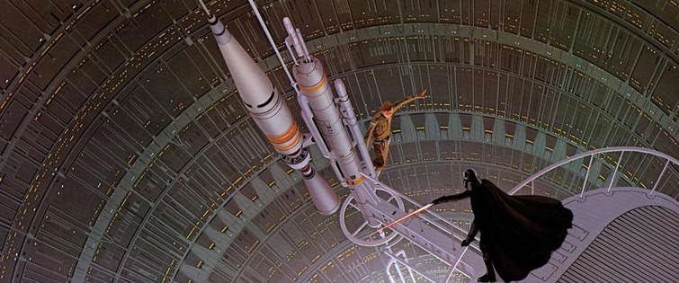 Creating the Cloud City Duel from The Empire Strikes Back: Cloud City Duel Climax by Ralph McQuarrie