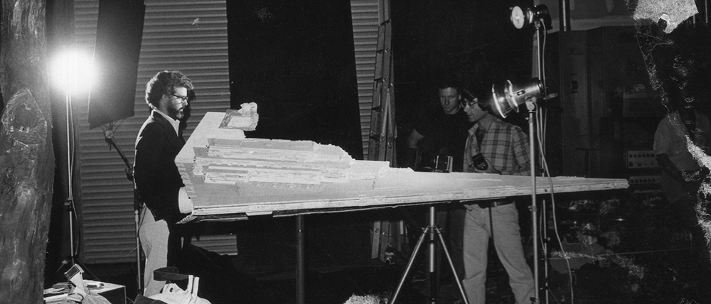How to Recreate Star Wars Practical Effects: George Lucas and Star Destroyer