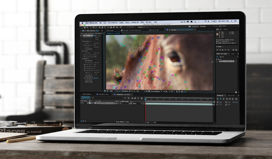 Stabilize Motion in After Effects