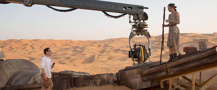 The Force Awakens: Camera on set