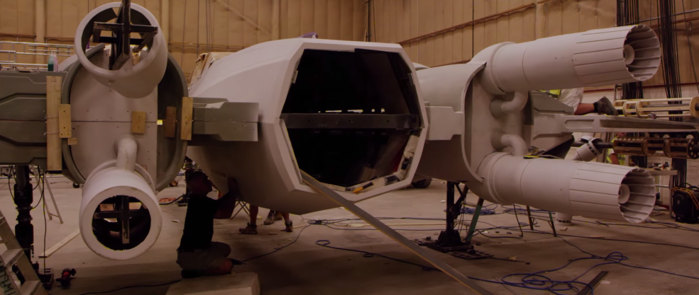 3 Filmmaking Lessons From the Production of The Force Awakens: X-Wing