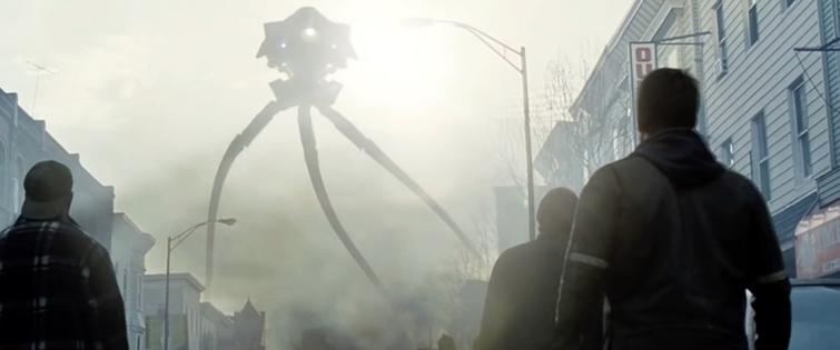 Deconstructing the Scene: War of the Worlds, Tripod