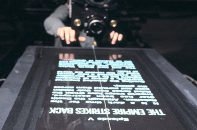 Star Wars Practical Effects: Rolling Titles