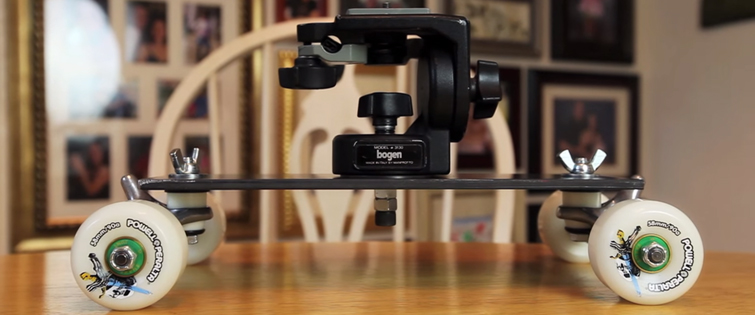 6 Affordable Ways to Capture Great Dolly Shots: DIY Table Top Dolly