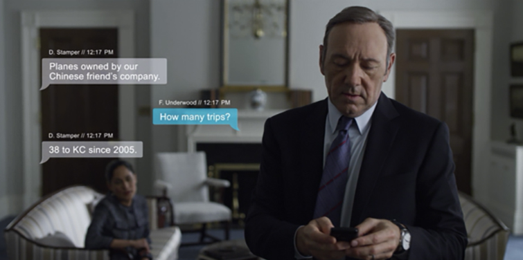 How to Create Realistic On-Screen Text Messages: House of Cards
