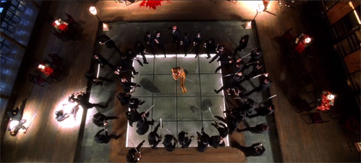 Frame within a Frame: Kill Bill