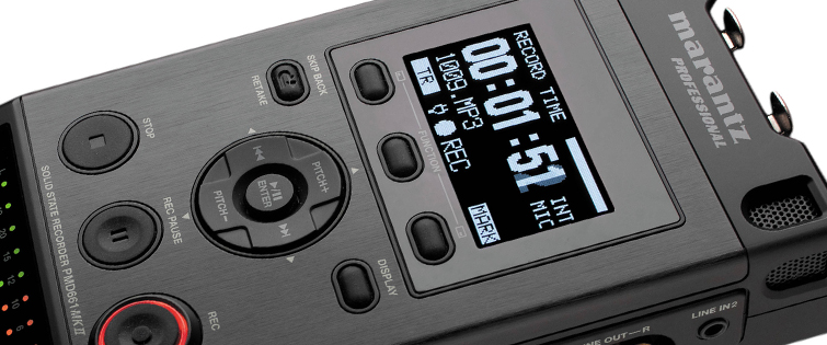 Affordable Field Recorders for Filmmakers - Marantz PMD661 MKII