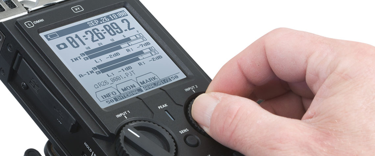 Affordable Field Recorders for Filmmakers - Roland R26 Recorder