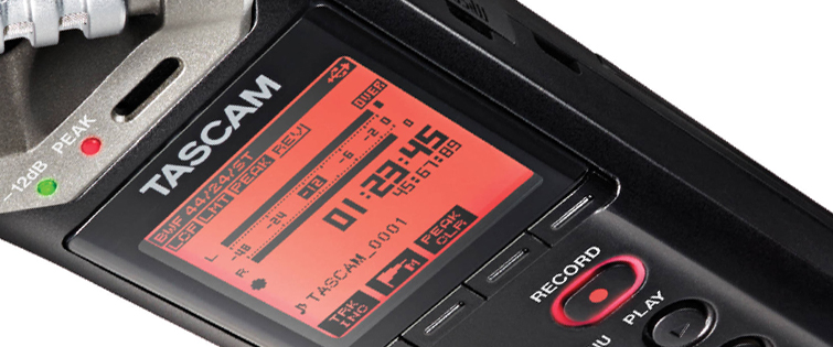 Affordable Field Recorders for Filmmakers - Tascam DR 22WL