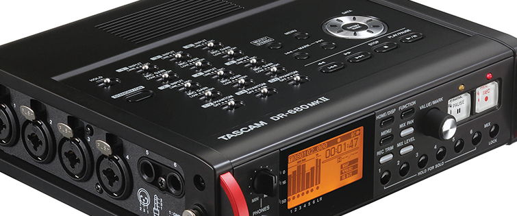 Affordable Field Recorders for Filmmakers - Tascam DR-680MKII