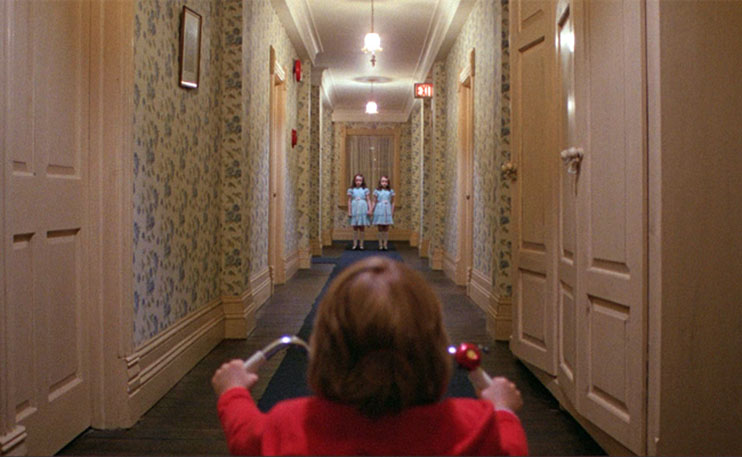 Frame within a Frame: The Shining