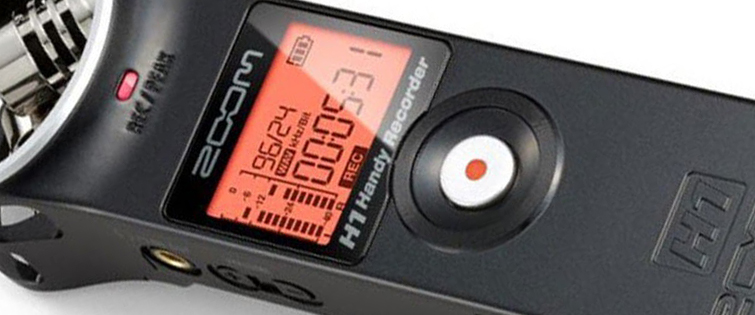Affordable Field Recorders for Filmmakers - Zoom H1 Recorder