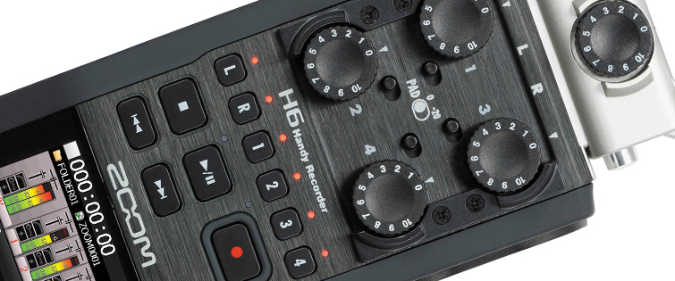 Affordable Field Recorders for Filmmakers - Zoom H6 Recorder