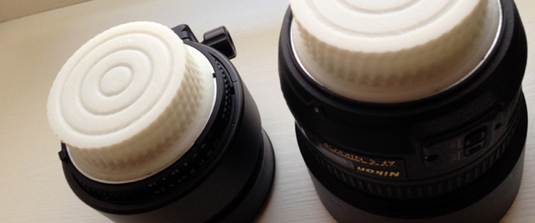 20 Pieces of Film Gear You Can Print With a 3D Printer: Lens Cap