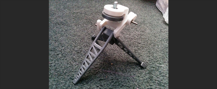 20 Pieces of Film Gear You Can Print With a 3D Printer: Mini Tripod