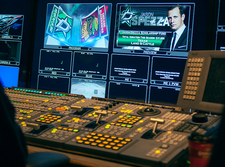 The Media Machine Behind the Dallas Stars: Board Control