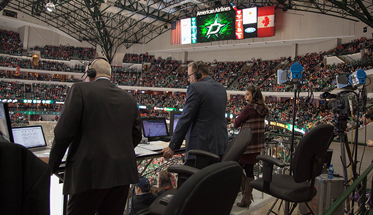 The Media Machine Behind the Dallas Stars: Strader and Razor