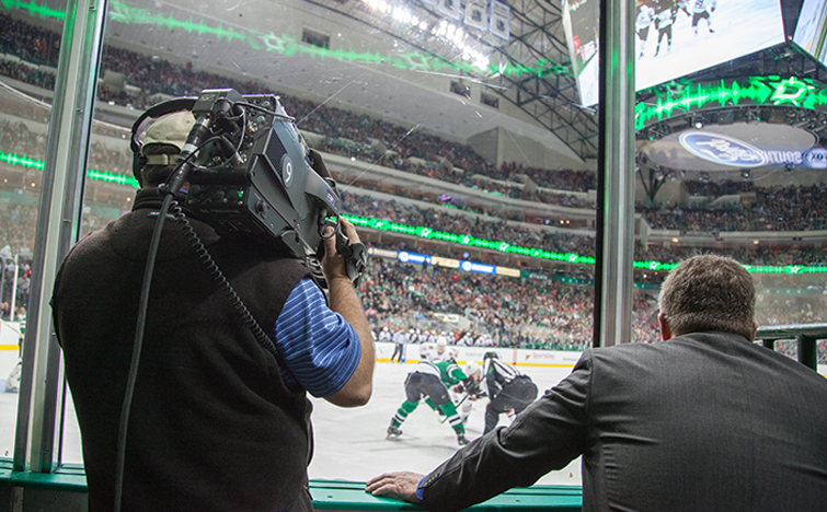 The Media Machine Behind the Dallas Stars: Camera