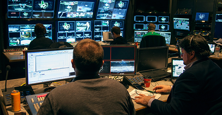The Media Machine Behind the Dallas Stars: Control Room Staff