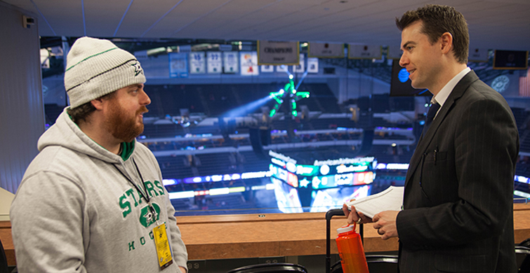 The Media Machine Behind the Dallas Stars: Danby and Grubes