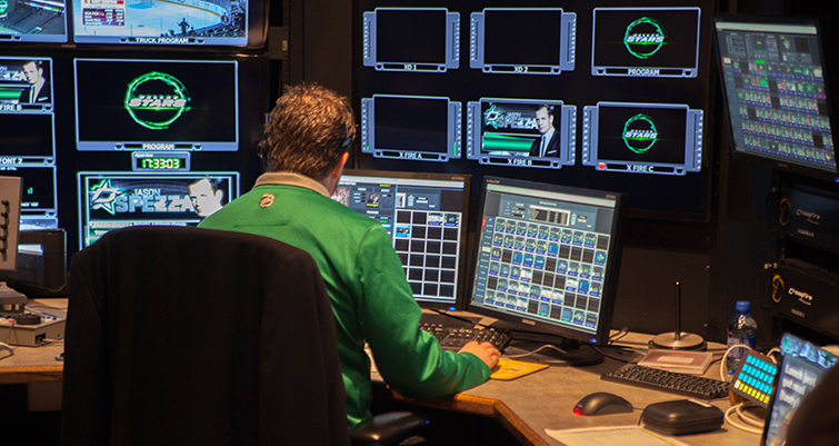 The Media Machine Behind the Dallas Stars: Kevin Harp