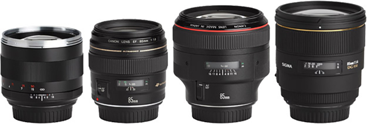 The 4 Best Lenses for Shooting Wedding Videos - 85mm