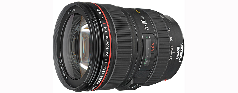 Best EF Lenses for Filmmaking Under $1000 - Canon 24-105mm lens