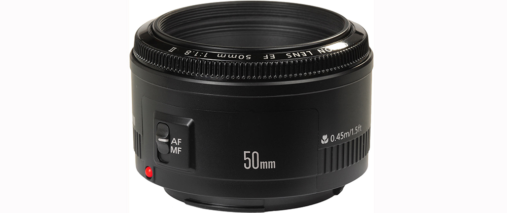 Best EF Lenses for Filmmaking Under $1000 - Canon 50mm Lens