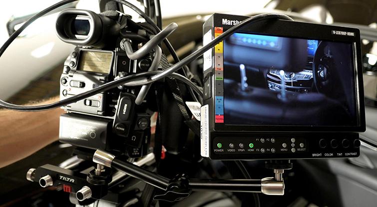 Corporate Video Camera Setup