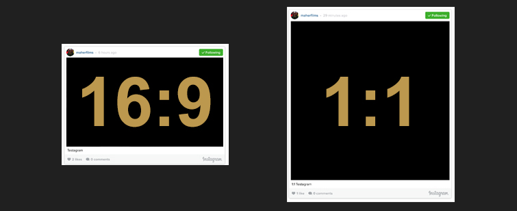 How to Upload 60-Second Videos to Instagram: Instagram Ratio