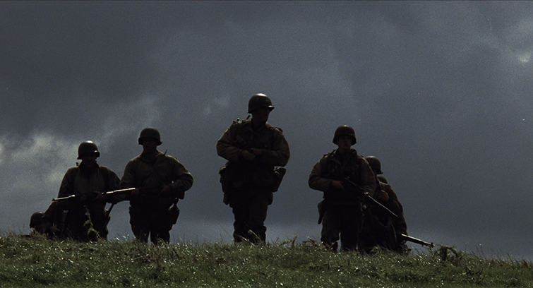 Setting the Mood With a Silhouette: Saving Private Ryan