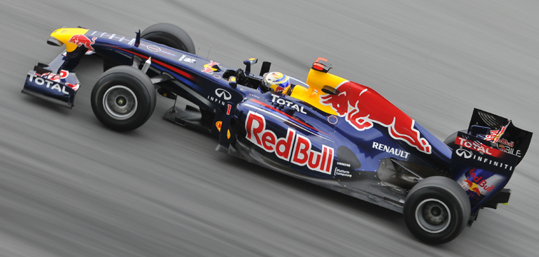 High Shutter Speed: Red Bull