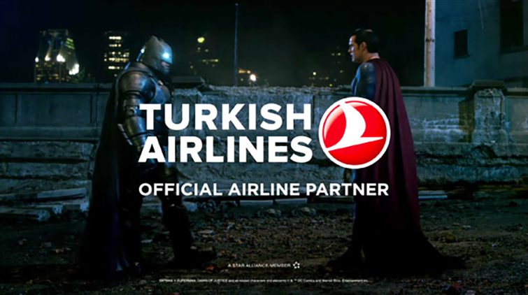 Product Placement in Film: Turkish Airlines