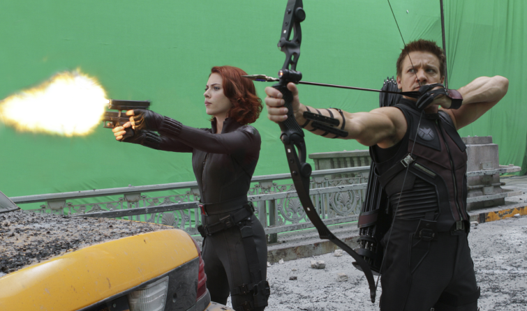 How an Average VFX Pipeline Works: Avengers green screen