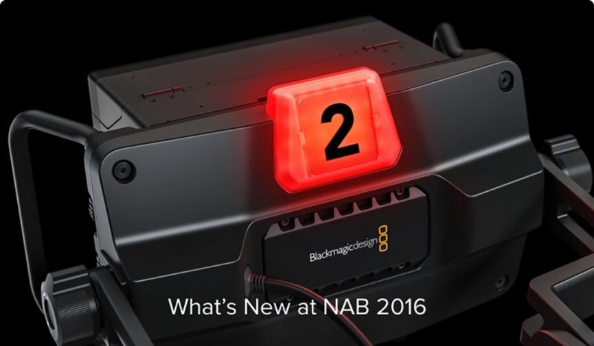 Blackmagic NAB 2016 Cover PB