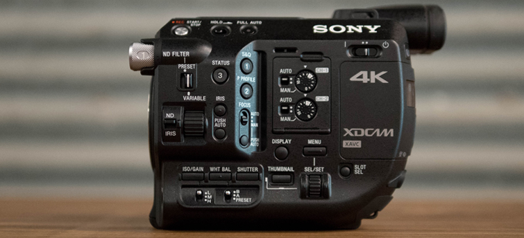 Upgrading to a Real Video Camera: Sony FS5