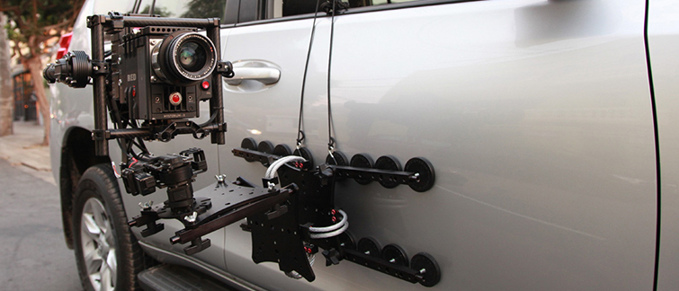 NAB 2016: More of the Latest Camera Rigs, Dollies, Gimbals, and Drones - Rig Wheels Cloud Mount