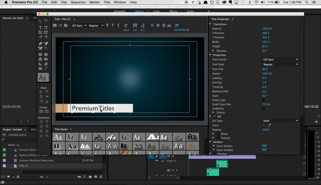 How to create and share title templates in premiere pro for Adobe premiere pro templates free