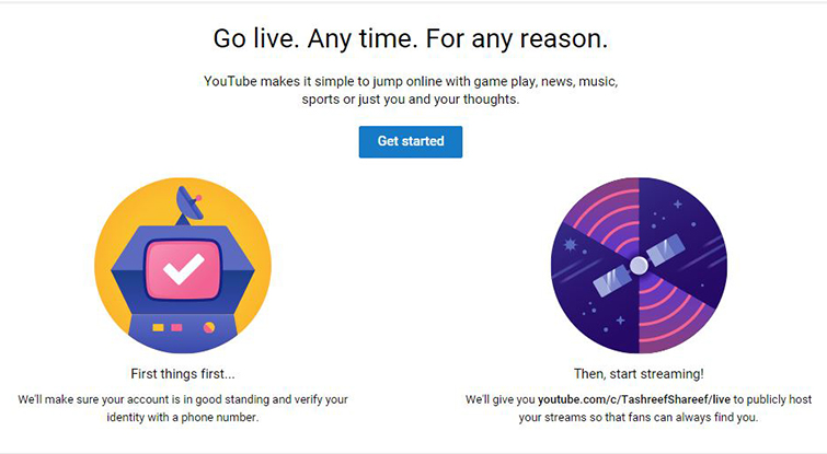 The Ins and Outs of Streaming on YouTube Live: YouTube Live Getting Started