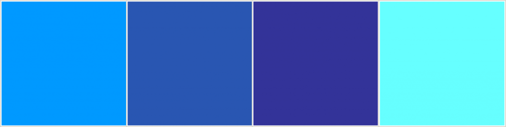 The Basic Properties of Color: Blue Hues