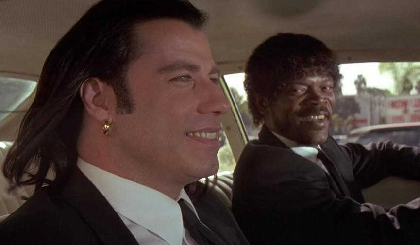Pulp Fiction Car Conversation Cover