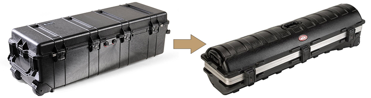 5 DIY Tutorials and Gear Hacks for Filmmakers: Travel Case - Pelican VS Golf