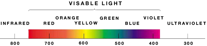 The Basic Properties of Color: Wavelength